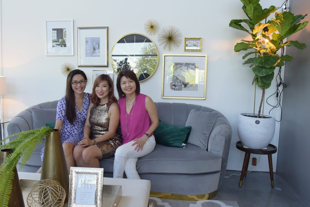 Guests for Miix Showroom grand opening