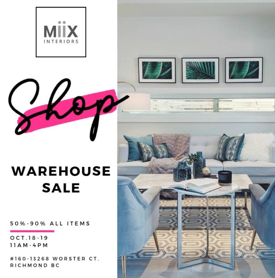 MiiX Warehouse Sale